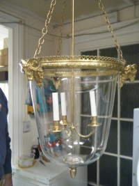 Large Glass Lantern
