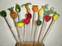 Cocktail Sticks / Drink Stirrers - Fruit