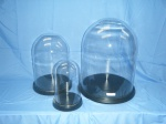 Glass Thimble Domes & Glass Domes